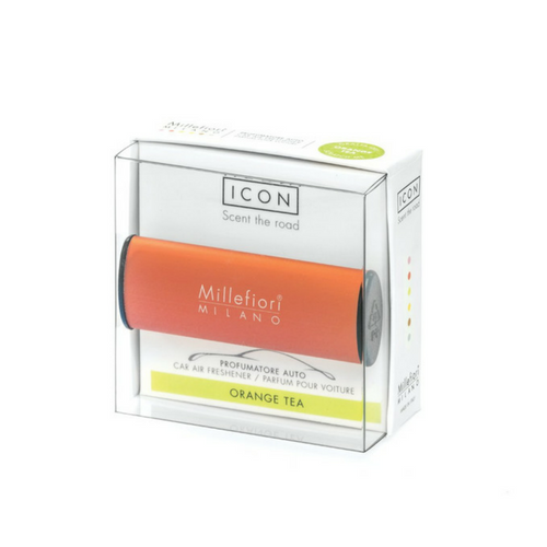 Millefiori Milano Car Air Freshener Icon Classic Orange Tea