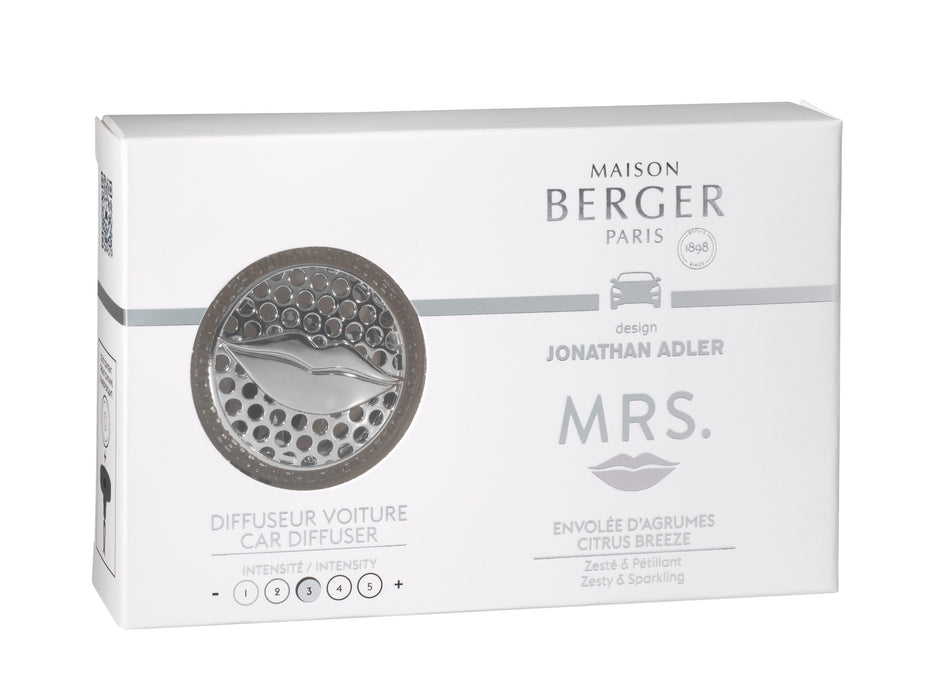 Maison Berger Paris Mrs Citrus Breeze Car Diffuser