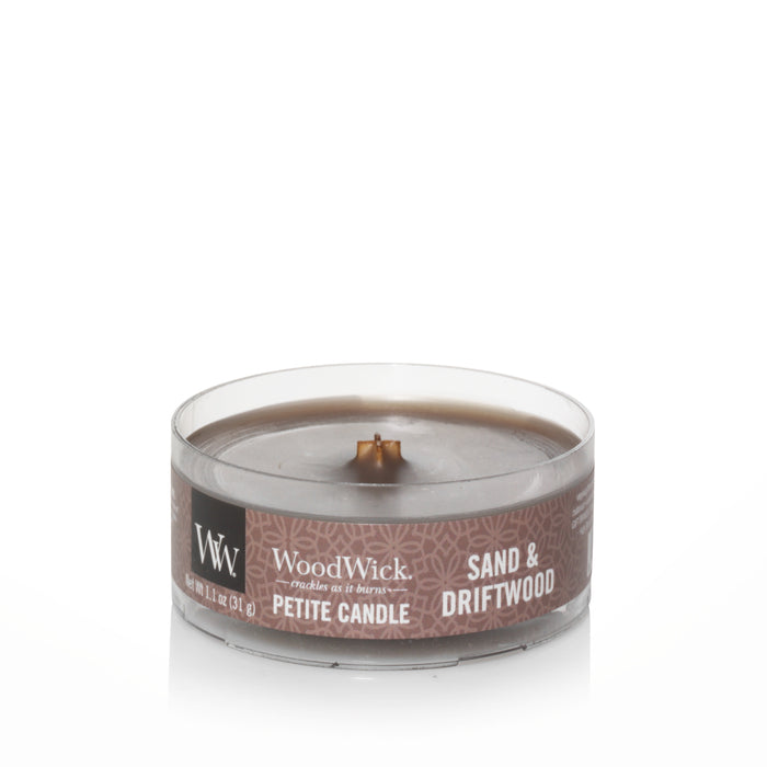 Woodwick Sand & Driftwood Petite Candle