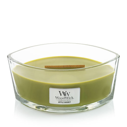WoodWick Apple Basket Ellipse Candle