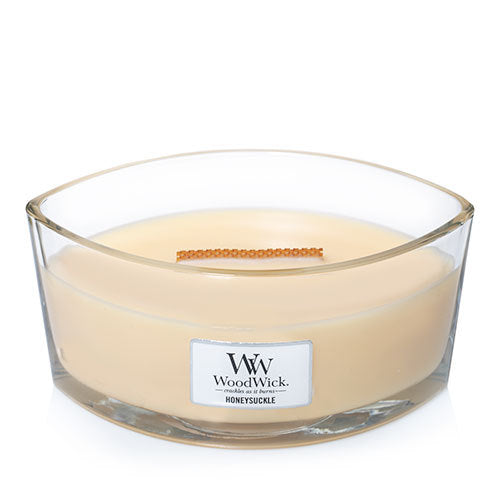 WoodWick Honeysuckle Ellipse Candle