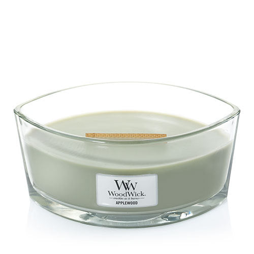WoodWick Applewood Ellipse Candle