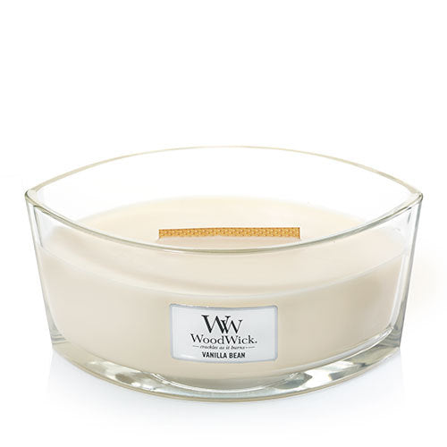 WoodWick Vanilla Bean Ellipse Candle