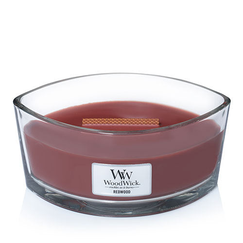 WoodWick Redwood Ellipse Geurkaars