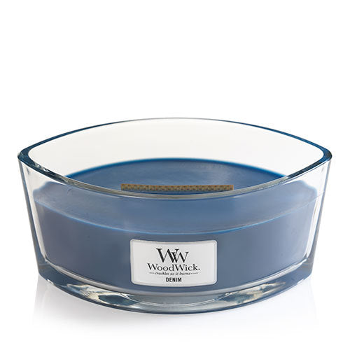 WoodWick Denim Ellipse Geurkaars