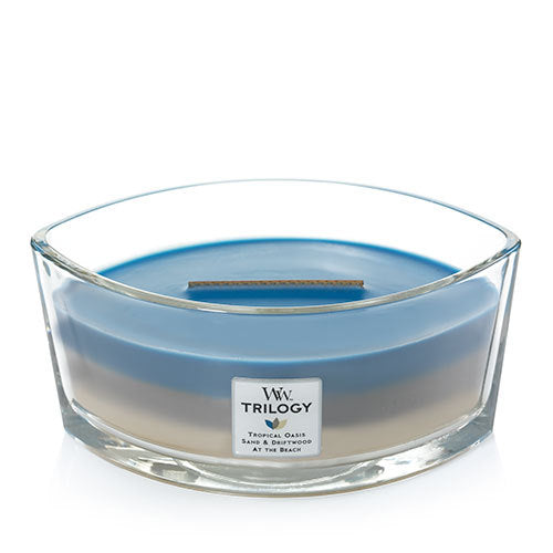 Woodwick Nautical Escape Trilogy Ellipse Geurkaars