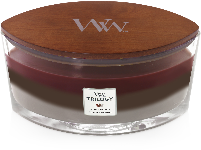 Woodwick Forest Retreat Trilogy Ellipse Candle