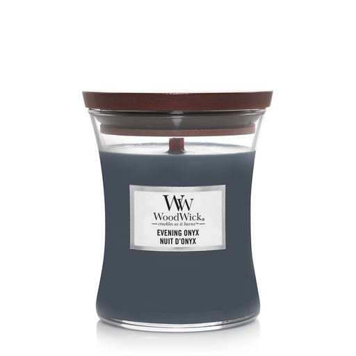 WoodWick Evening Onyx Medium Candle