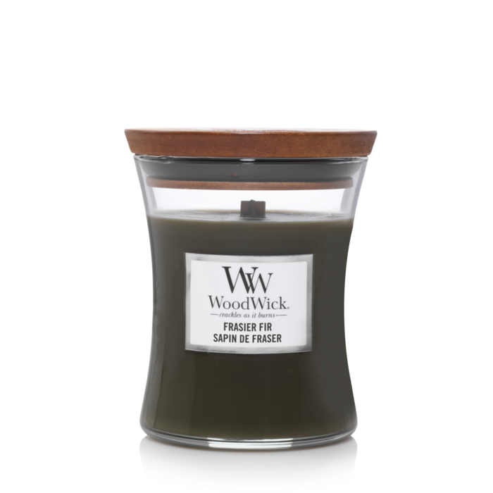 WoodWick Frasier Fir Medium Candle