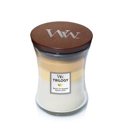 WoodWick Fruits of Summer Trilogy Medium Candle