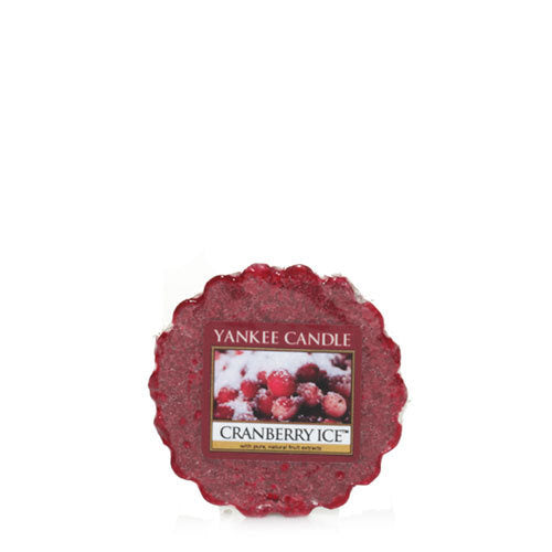 Yankee Candle Cranberry Ice Wax Tart Geurkaars