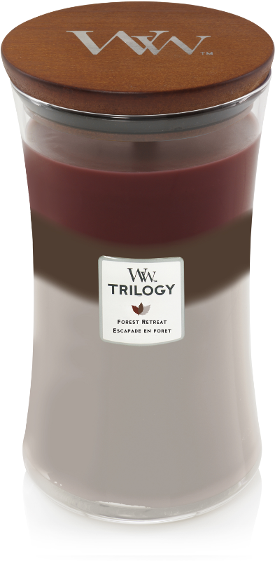 WoodWick Forest Retreat Trilogy Large Candle