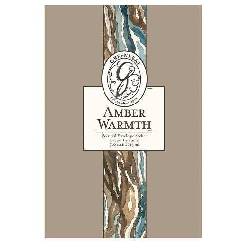 Greenleaf Amber Warmth Large Sachet