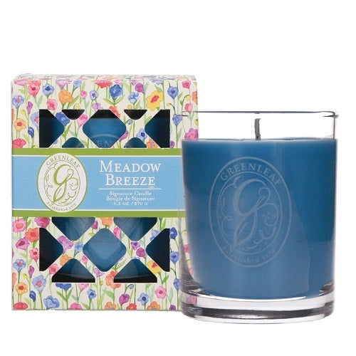 Greenleaf Meadow Breeze Box Jar Candle