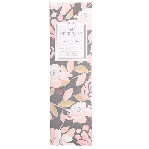Greenleaf Currant Rose Slim Sachet