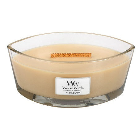 WoodWick At The Beach Ellipse Candle