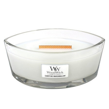 Campfire Marshmallow Ellipse WoodWick HeartWick Candle