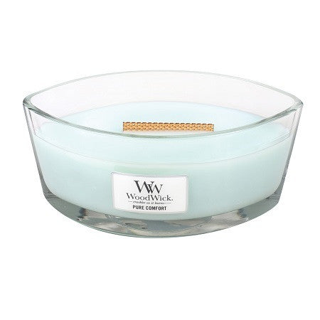 Pure Comfort Ellipse WoodWick HeartWick Candle