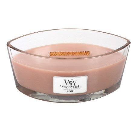 WoodWick Cedar Ellipse Candle