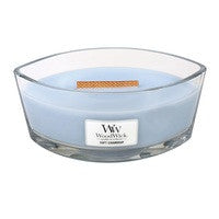 WoodWick Soft Chambray Ellipse Geurkaars