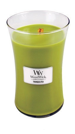 Tranquilitea Large WoodWick Candle