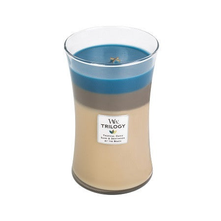 Nautical Escape Trilogy Large WoodWick Candle
