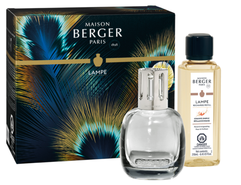 Maison Berger Paris Lamp Etincelle Grey Gift Set