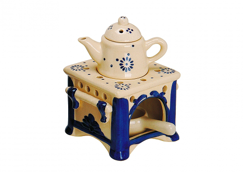 Ceramic Dutch Teapot Tart Burner