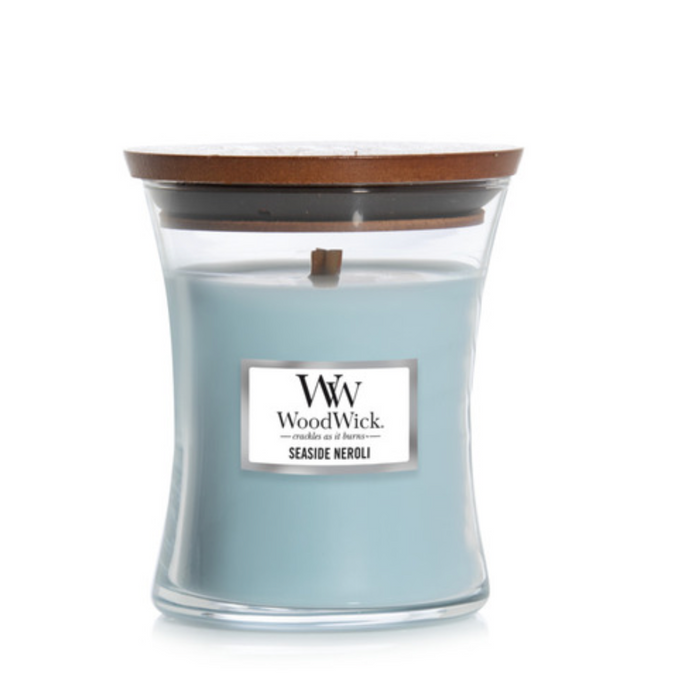 WoodWick Seaside Neroli Medium Candle