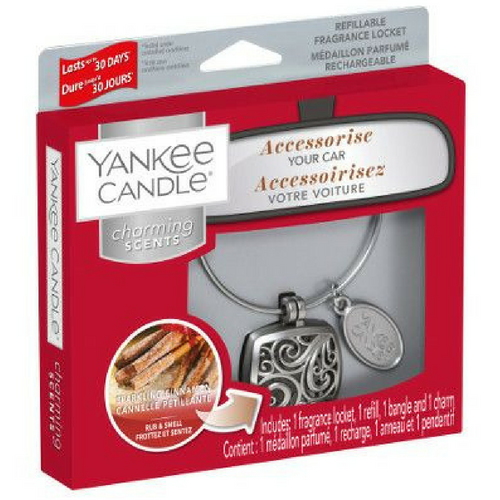Yankee Candle Sparkling Cinnamon Charming Scents Starter Kit Square