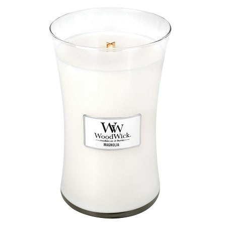 WoodWick Magnolia Large Geurkaars