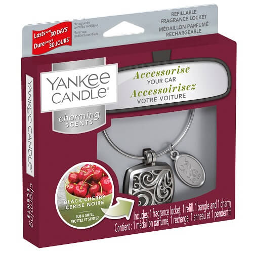 Yankee Candle Black Cherry Charming Scents Starter Kit Square
