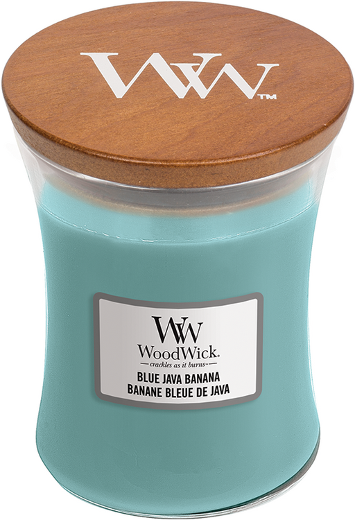 Woodwick Blue Java Banana Medium Jar