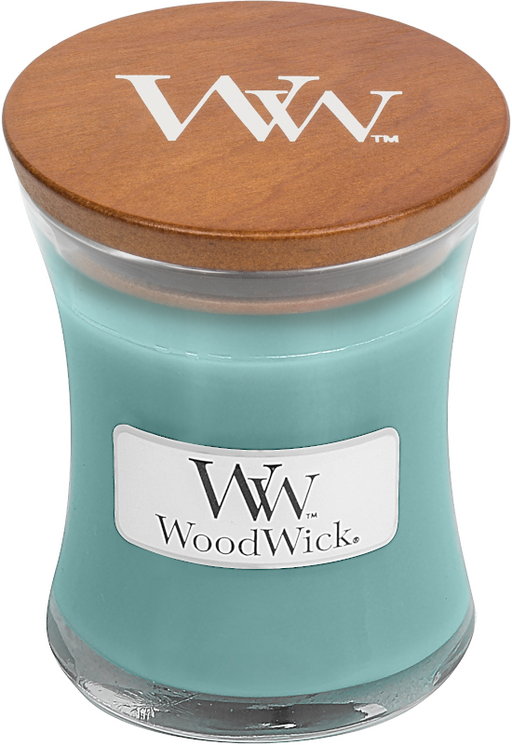WoodWick Blue Java Banana Mini Candle