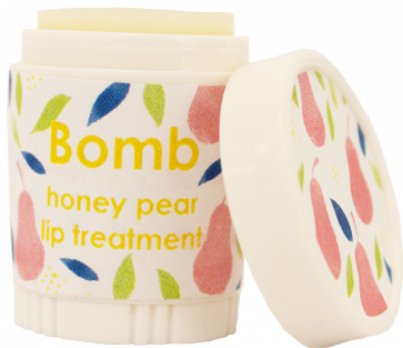 Bomb Cosmetics Honey Pear Lip Balm