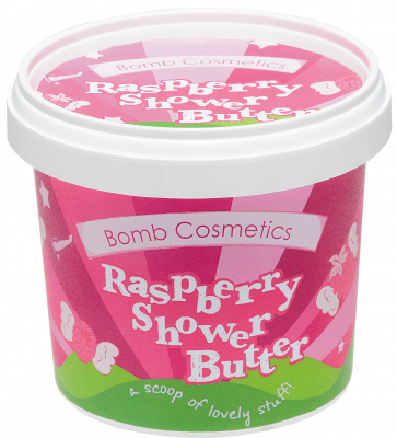 Bomb Cosmetics Raspberry Blower Cleansing Shower Butter