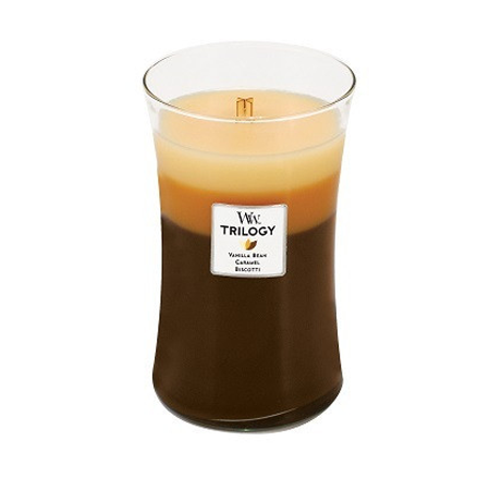 Caffé Sweets Trilogy Large WoodWick Candle
