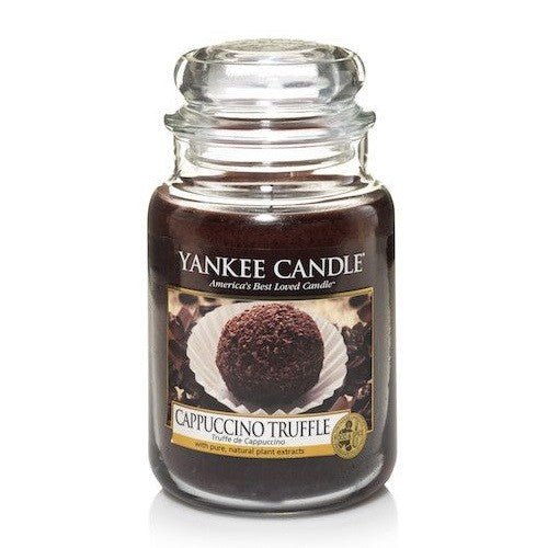 Yankee Candle Cappuccino Truffle Large Jar Geurkaars