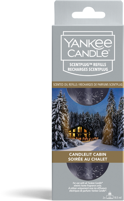Yankee Candle Candlelit Cabin Refill Electric Fragrance