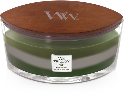 Woodwick Mountain Trail Trilogy Ellipse Candle