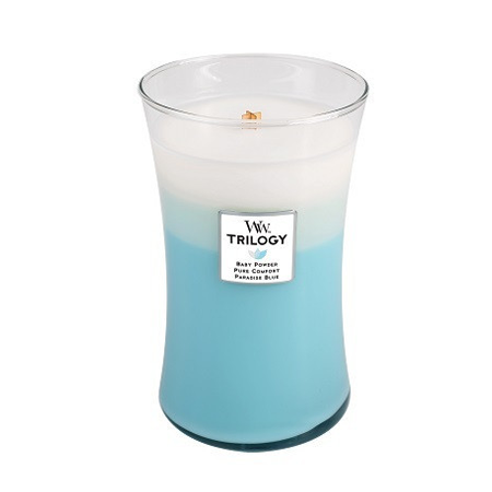 Fresh & Clean Trilogy Large WoodWick Candle