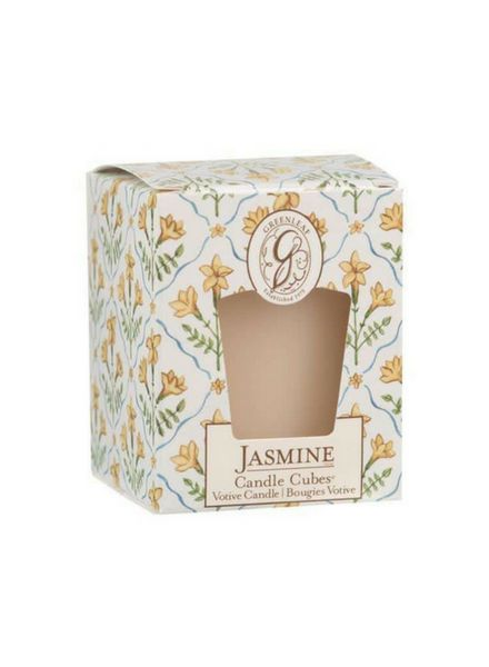 Greenleaf Jasmine Cube Votive