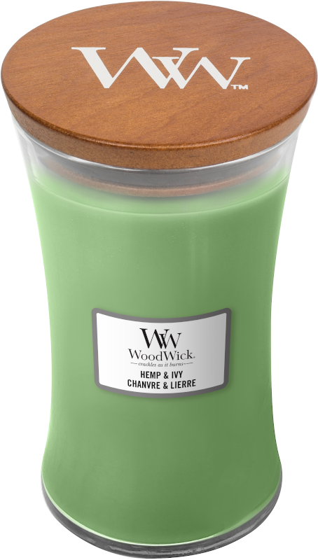 WoodWick Hemp & Ivy Large Candle