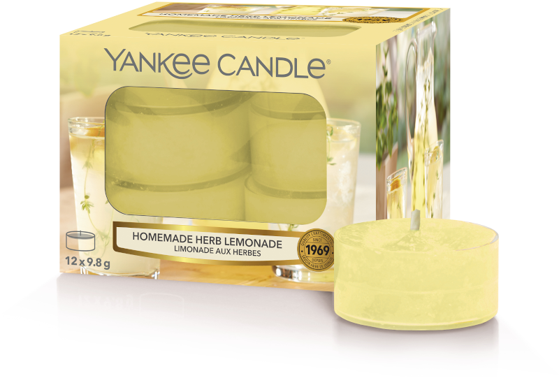 Yankee Candle Homemade Herb Lemonade Tea Lights
