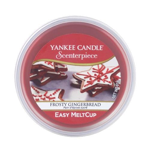 Yankee Candle Frosty Gingerbread Scenterpiece Meltcup
