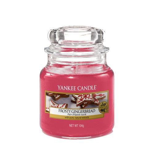 Yankee Candle Frosty Gingerbread Small Jar