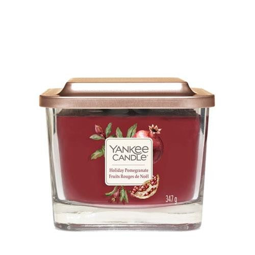 Yankee Candle Holiday Pomegranate Medium Elevation Geurkaars