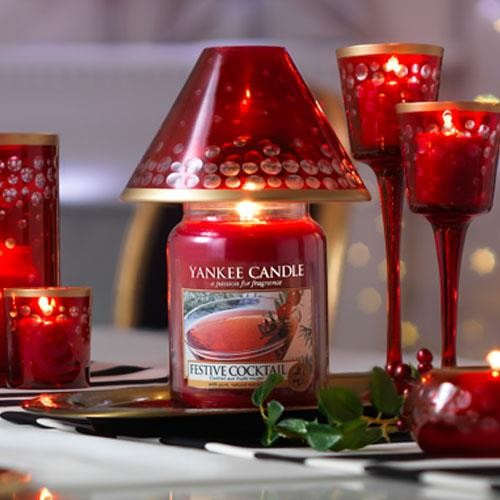 Yankee Candle Festive Cocktail Large Jar Geurkaars