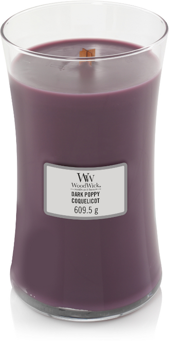 WoodWick Dark Poppy Large Candle