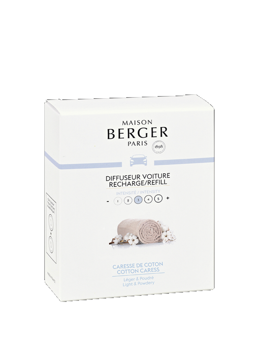 Maison Berger Paris Car Diffuser Cotton Caress Refill